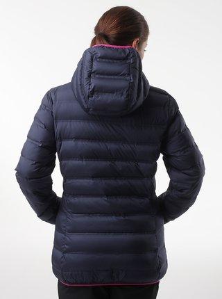 Tmavomodrá dámska zimná prešívaná bunda LOAP Itiana