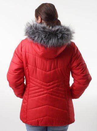 Červená dámska zimná bunda LOAP Tarra