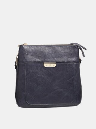Tmavě modrá crossbody kabelka Bessie London