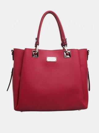 Červený shopper Bessie London