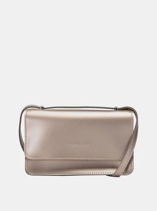 Crossbody kabelka ve zlaté barvě Claudia Canova