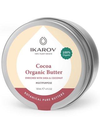 Přírodní tělový kakaový olej s bambuckým máslem a kokosem Ikarov