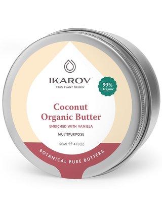 Přírodní tělový kokosový olej s vanilkou Ikarov
