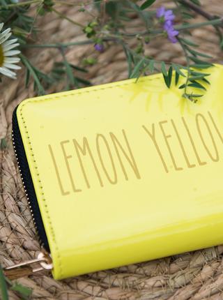 Žlutá dámská peněženka Clayre & Eef