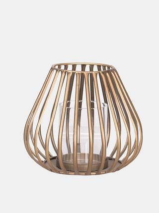Sviečka v zlatej farbe Clayre & Eef