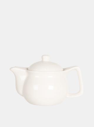 Biela kanvica na čaj Clayre & Eef