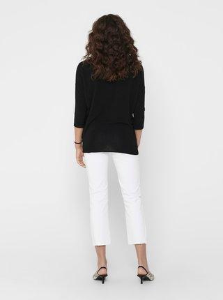 Čierny ľahký sveter ONLY Glamour