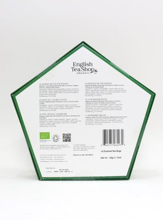 Zelená vánoční kolekce čajů English Tea Shop