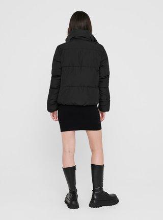 Čierna zimná prešívaná bunda Jacqueline de Yong Erica