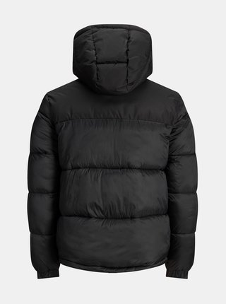 Čierna prešívaná bunda Jack & Jones Drew