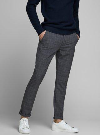 Šedé vzorované kalhoty Jack & Jones Marco