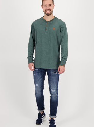 Zelené pánské tričko Alife and Kickin