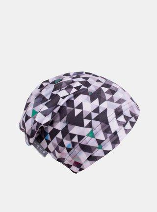 Šedá chlapčenská fleecová čiapka Unuo