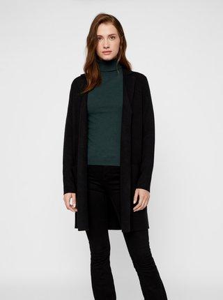 Černý lehký kabát VERO MODA Tasty