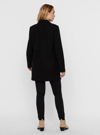 Černý kabát VERO MODA Dafne