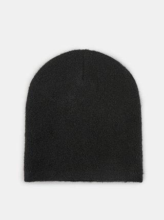 Čierna čiapka Pieces Berta