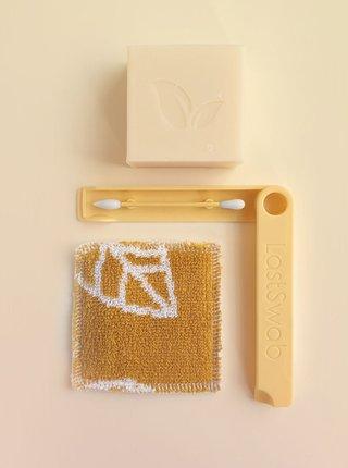 Žltá znovupoužiteľná tyčinka na líčenie LastSwab