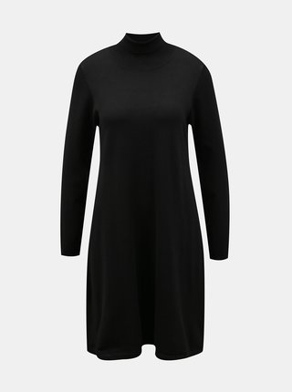 Čierne svetrové šaty VERO MODA Glory