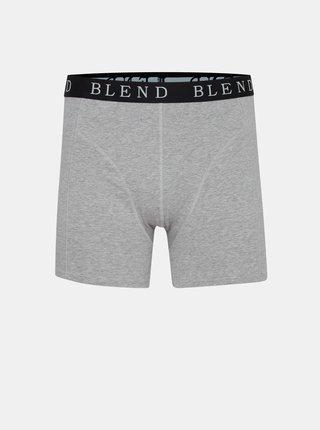 Sada dvoch boxeriek v šedej a čiernej farbe Blend