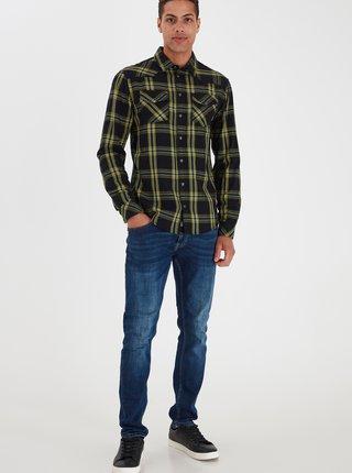 Zelená kockovaná košeľa Blend