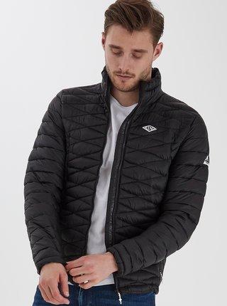 Čierna prešívaná zimná bunda Blend