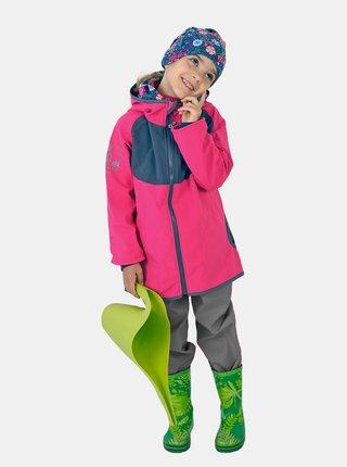 Šedé holčičí softshellové kalhoty Unuo
