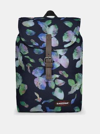 Tmavomodrý vzorovaný batoh Eastpak 10,5 l