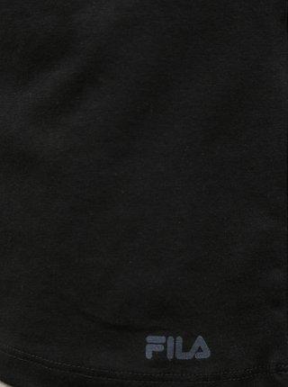 Černé pánské basic tričko pod košili FILA