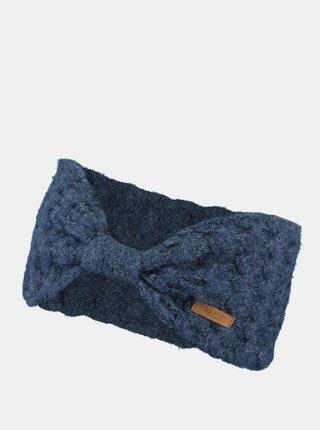 Tmavě modrá dámská čelenka Barts