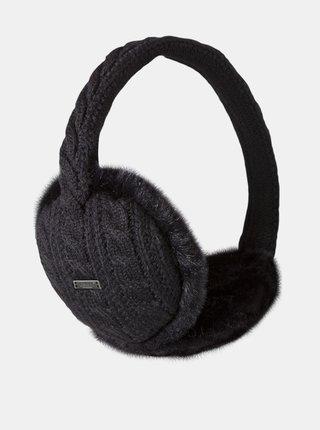 Černé dámské klapky na uši Barts