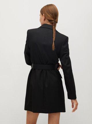 Černé šaty Mango