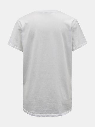 Biele basic tričko TALLY WEiJL