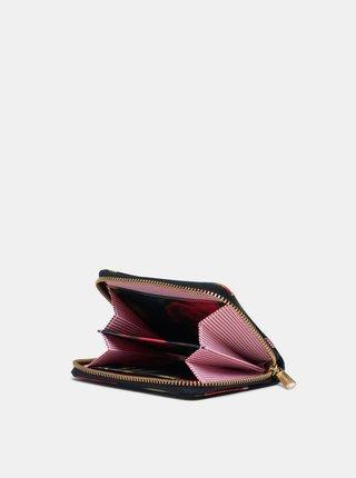 Čierna vzorovaná peněženka Herschel Supply
