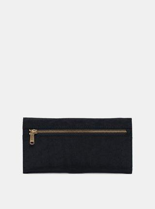 Černá kožená peněženka Herschel Supply Orion