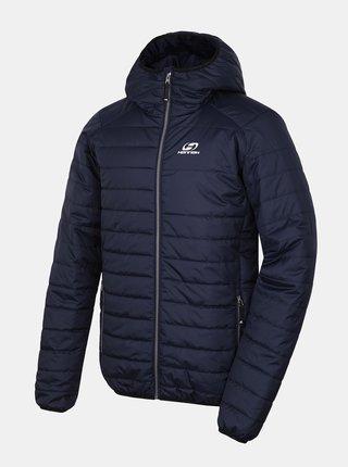 Tmavomodrá pánska zimná prešívaná bunda Hannah