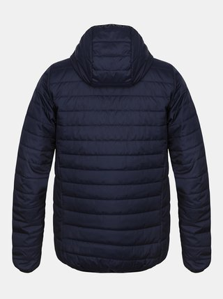 Tmavě modrá pánská zimní prošívaná bunda Hannah Edison