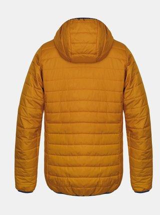 Žltá pánska zimná prešívaná bunda Hannah