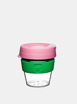 Ružový plastový cestovný hrnček KeepCup Clear Willow small 227 ml