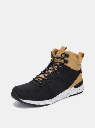 Černé pánské kotníkové boty SAM 73 Takr