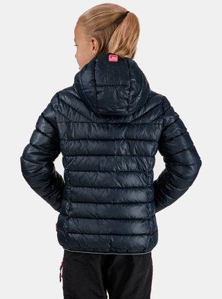 Tmavomodrá dievčenská prešívaná bunda SAM 73