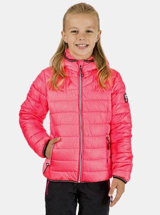 Růžová holčičí prošívaná bunda SAM 73 Emily