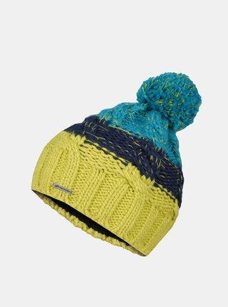 Modro-zelená detská čiapka Hannah