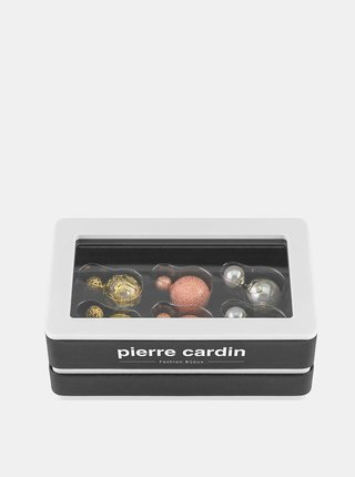 Sada troch párov dámskych náušnic Pierre Cardin