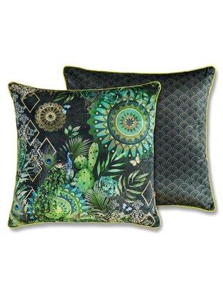 Home zelený dekorativní polštář s výplní Hip Botalia 48x48cm