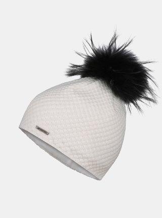 Biela dámska čiapka Hannah