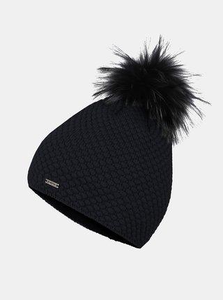 Čierna dámska čiapka Hannah