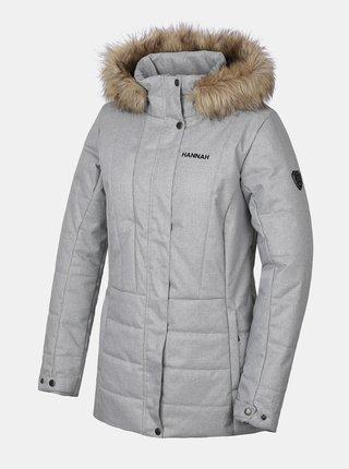 Šedá dámská zimní bunda Hannah Omaha