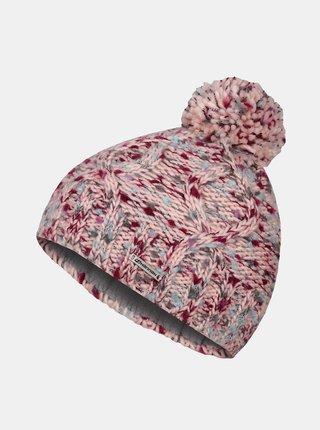 Ružová dievčenská čiapka Hannah