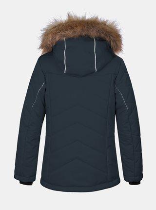 Tmavomodrá dievčenská zimná bunda Hannah