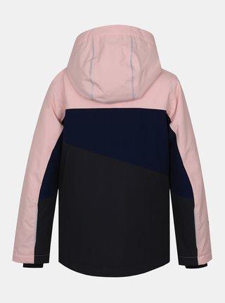 Modro-růžová holčičí zimní bunda Hannah Majlo